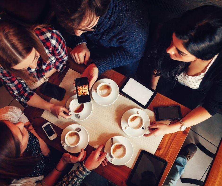 Nice coffee meeting