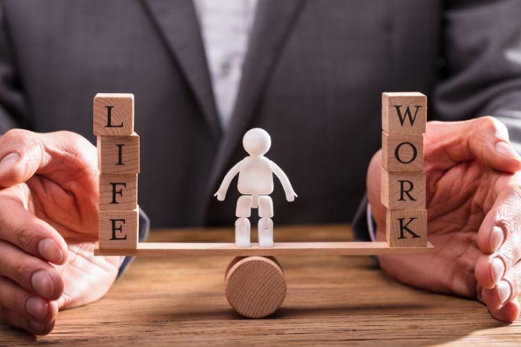 finding that work life balance